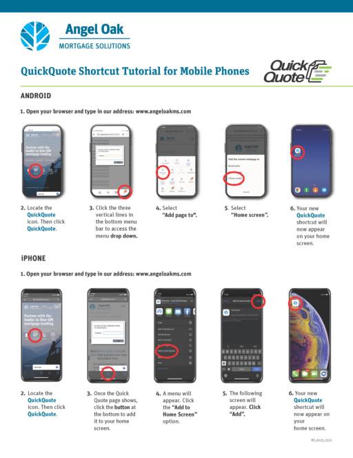 QuickQuote App Download Instructions