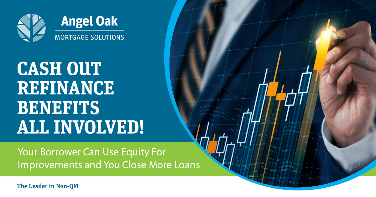 Close More Loans With Our Cash Out Refinance Program