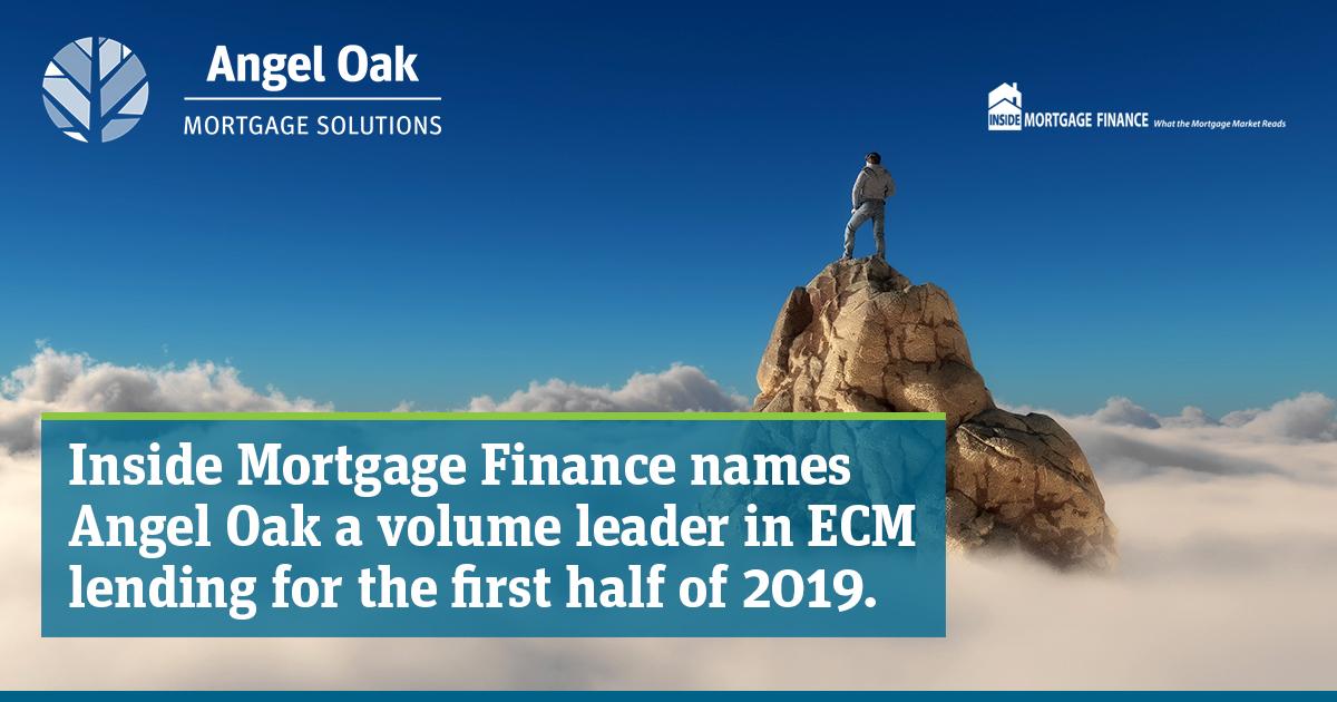Angel Oak Named A Leader In Expanded Credit Mortgages