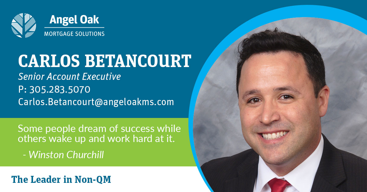 Get To Know Your Senior Account Executive – Carlos Betancourt