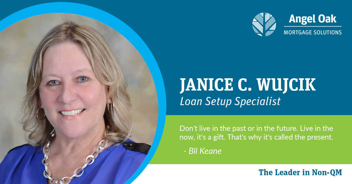Get To Know Your Team – Janice Wujcik