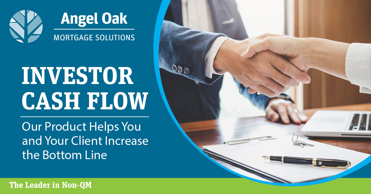 Our Investor Cash Flow Product Helps You Close More Loans