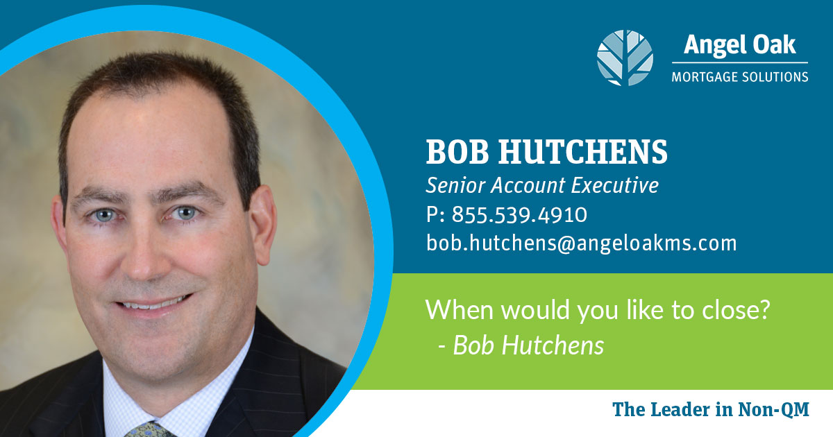 Get To Know Your Account Executive  – Bob Hutchens