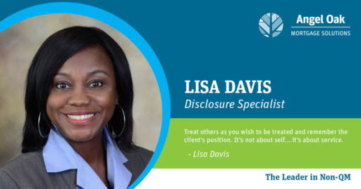Get To Know Your Disclosure Specialist - Lisa Davis