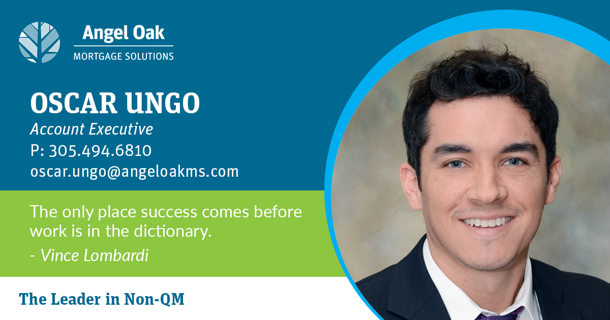 Get To Know Your Account Executive – Oscar Ungo