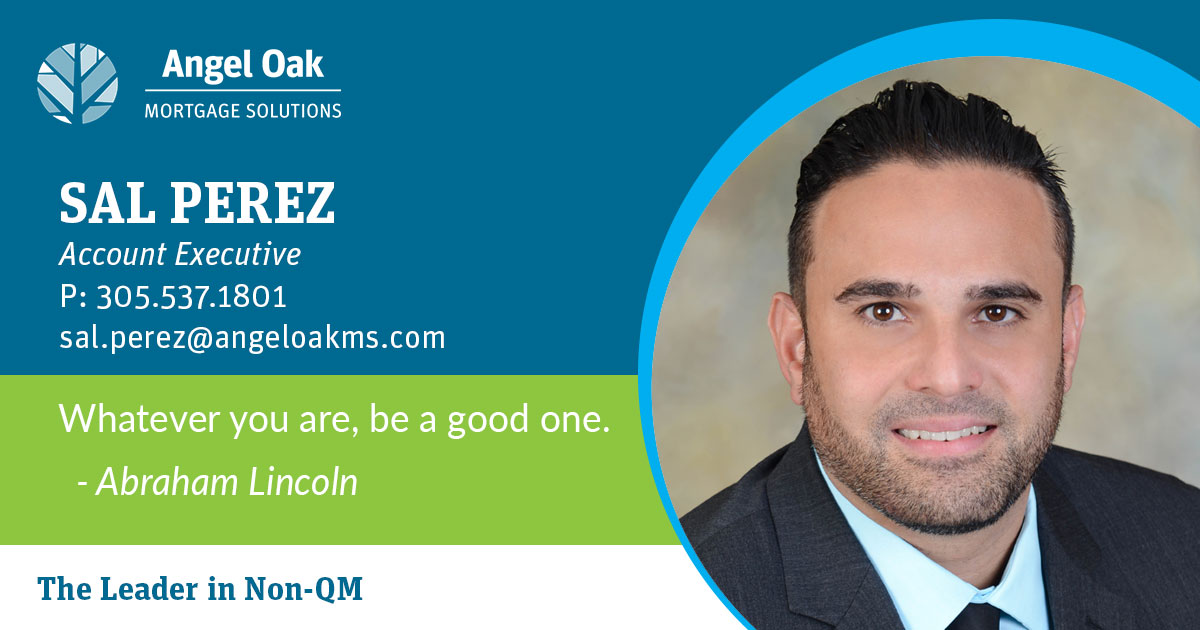 Get To Know Your Account Executive – Sal Perez