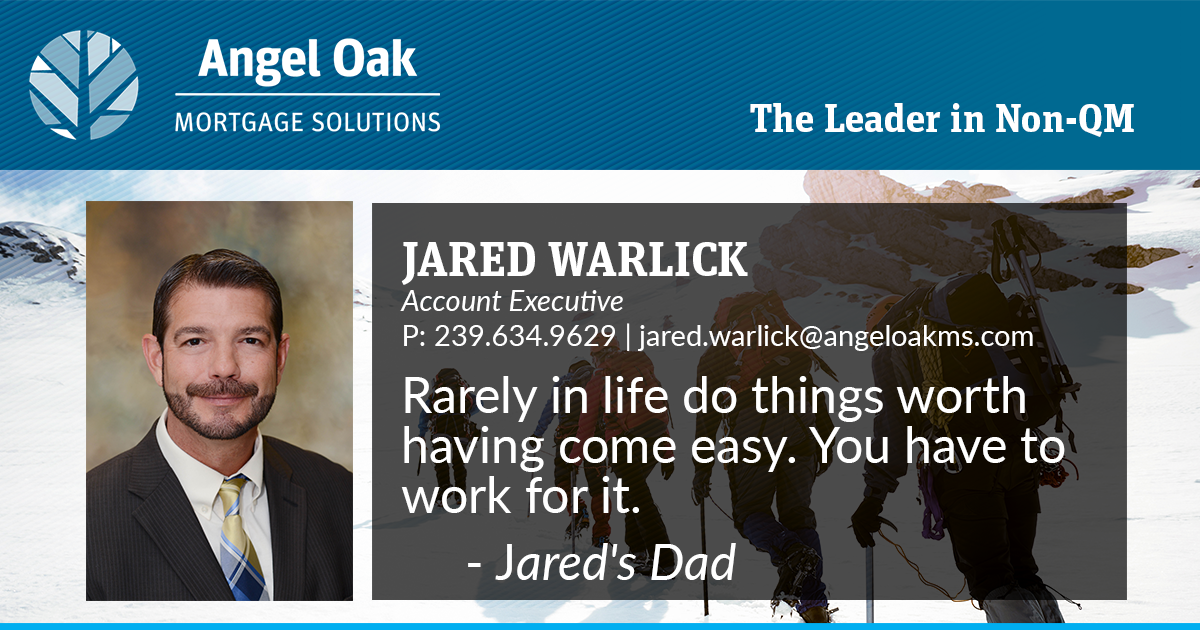 Get To Know Your Account Executive – Jared Warlick