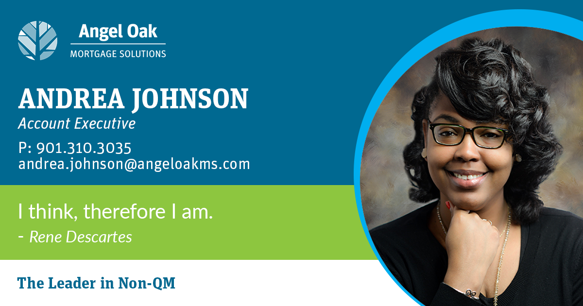Get To Know Your Account Executive – Andrea Johnson