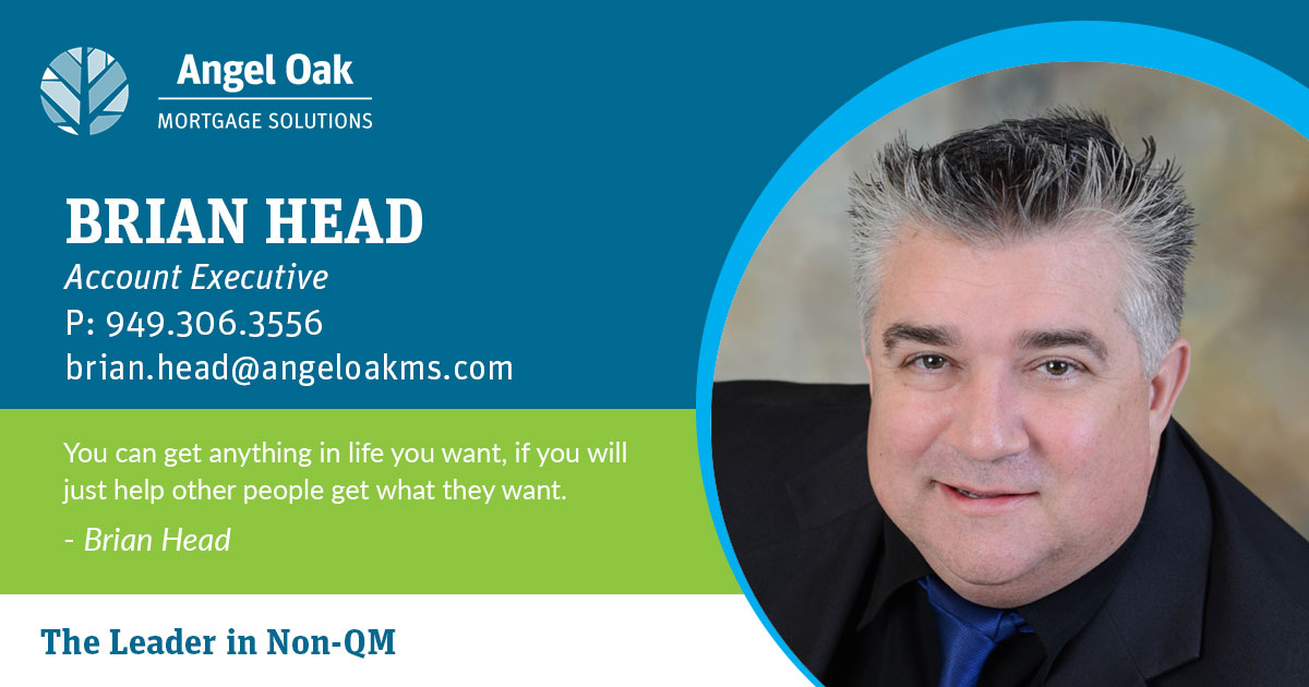 Get To Know Your Account Executive – Brian Head