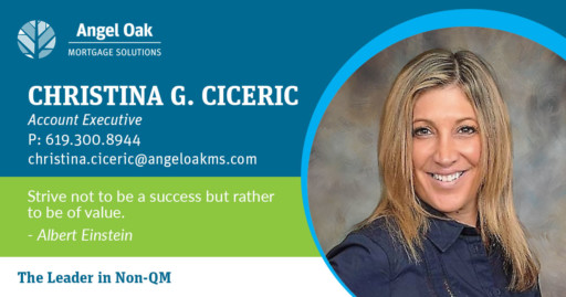 Account Executive Christina Ciceric