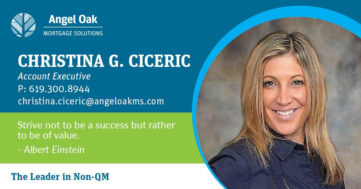 Get To Know Your Account Executive – Christina Ciceric