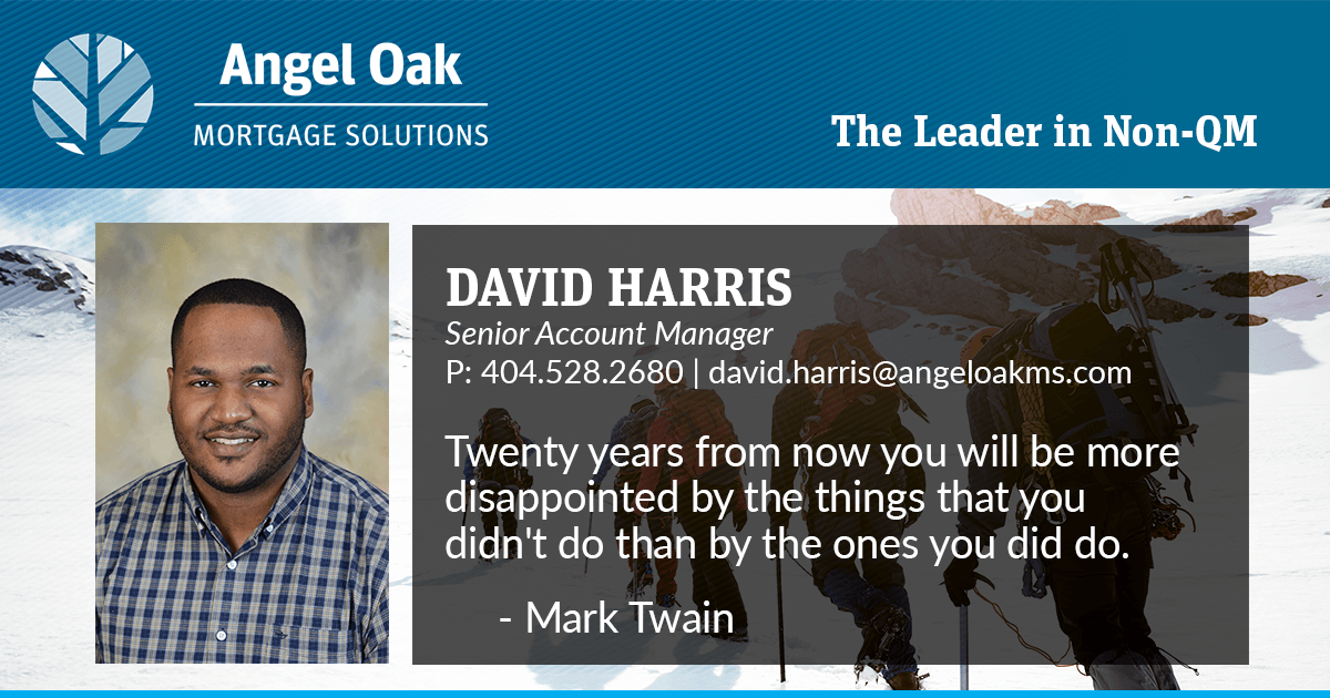 Get To Know Your Account Manager – David Harris