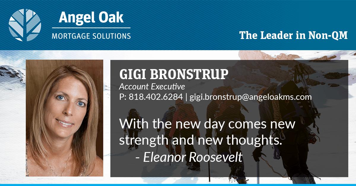 Get To Know Your Account Executive – Gigi Bronstrup