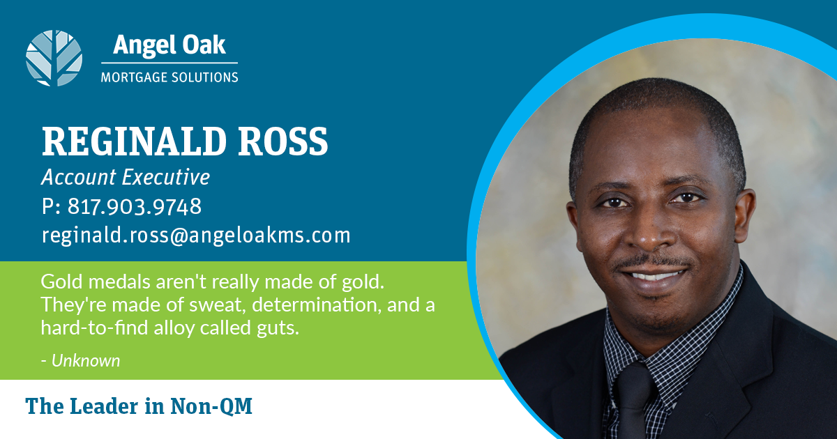Get To Know Your Account Executive – Reginald Ross