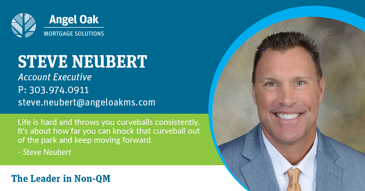 Get To Know Your Account Executive – Steve Neubert