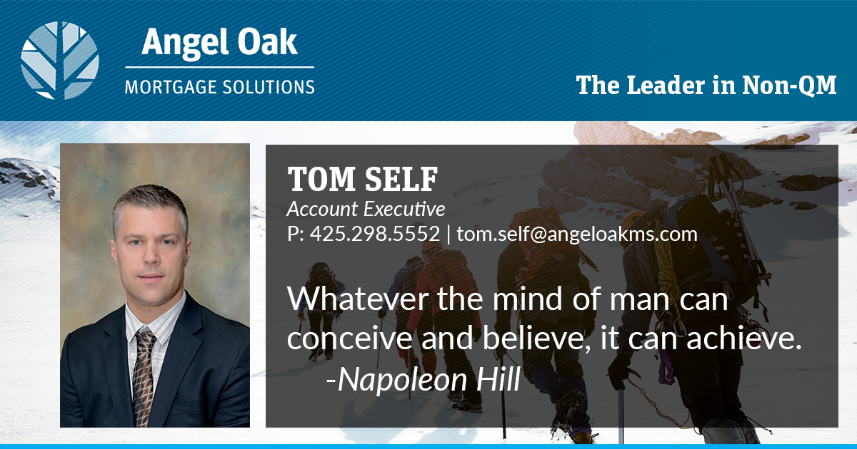 Get To Know Your Account Executive – Tom Self