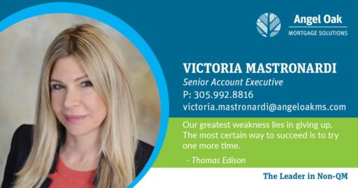 Get To Know Your Senior Account Executive - Victoria Mastronardi