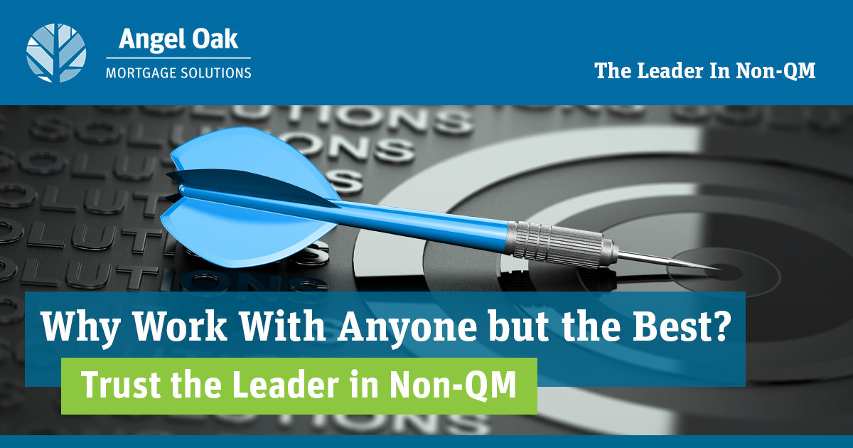 Why Work With Anyone But The Best In Non-QM?