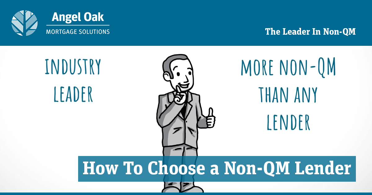 Choosing A Non-QM Lender Doesn't Have To Be Difficult