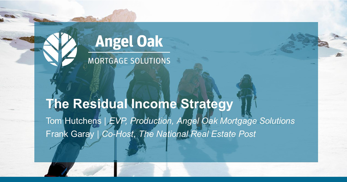 The Residual Income Strategy