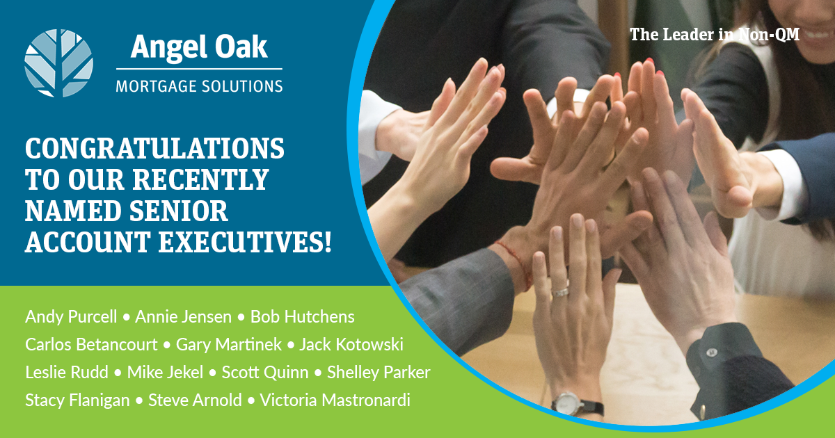 Congratulations To Our Newly Named Senior Account Executives