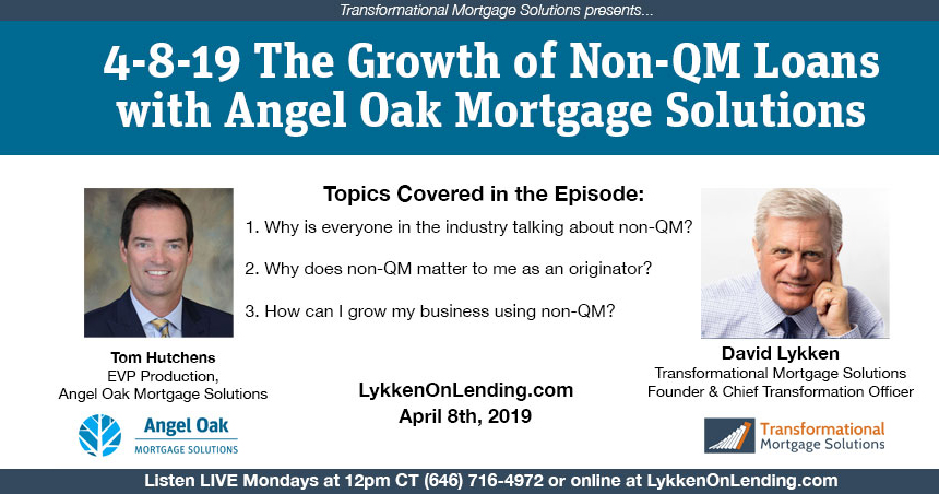 David Lykken Reports On The Growth Of Non-QM