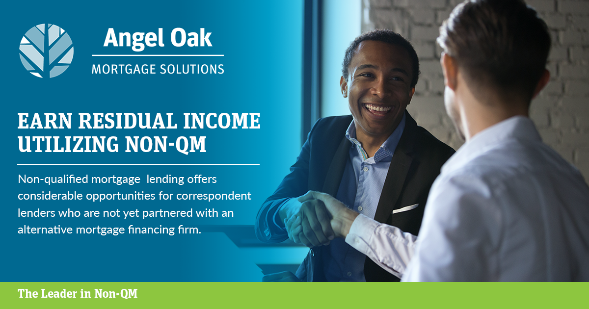 Angel Oak Mortgage Solutions A Leader In The Mortgage Credit Industry