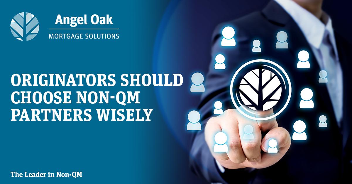 Originators Should Choose Non-QM Partners Wisely