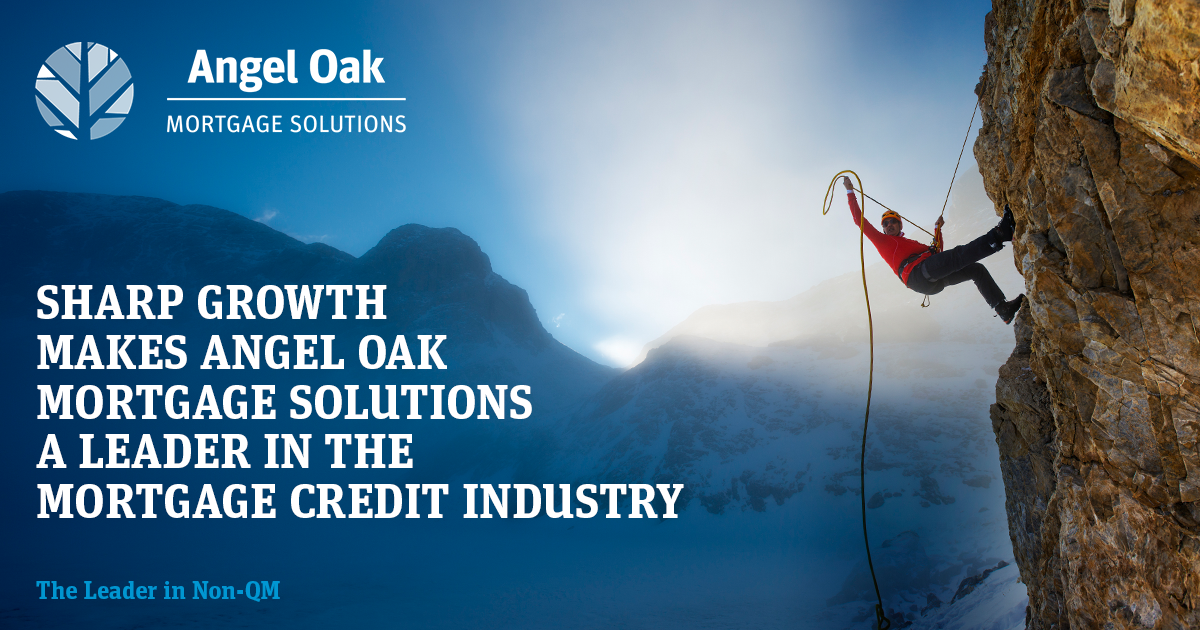 Angel Oak Mortgage Solutions The Leader In Mortgage Credit