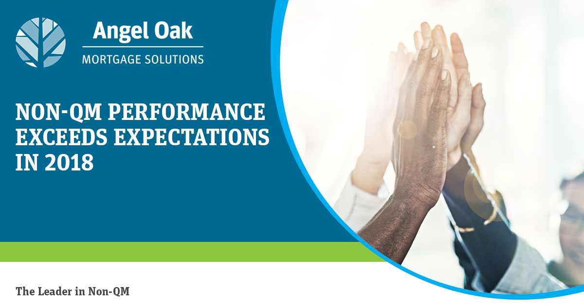 Non-QM Performance Exceeds Expectations in 2018