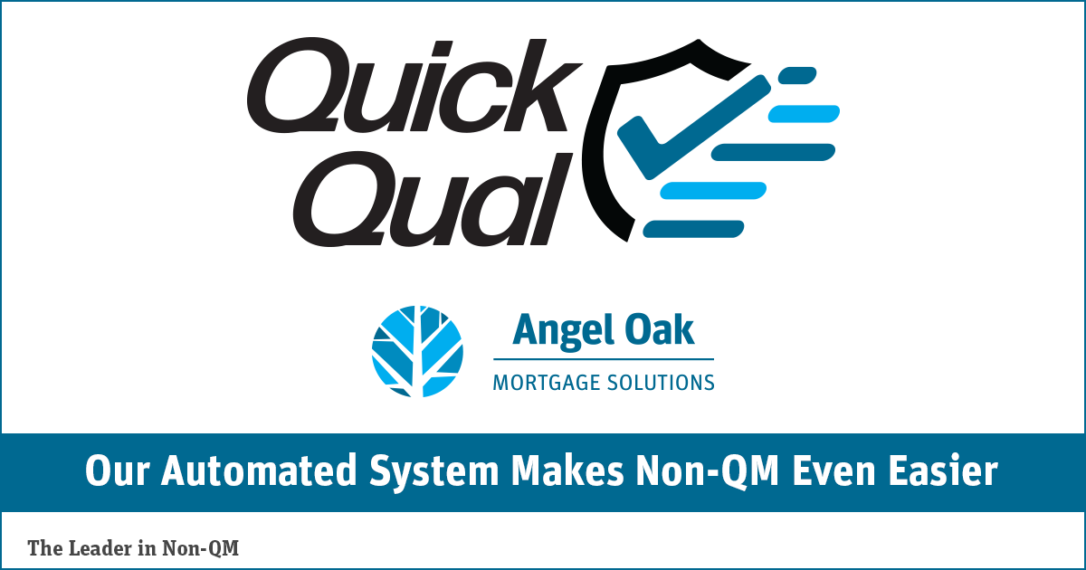 Angel Oak Mortgage Solutions Automates the Pre-Qual Process