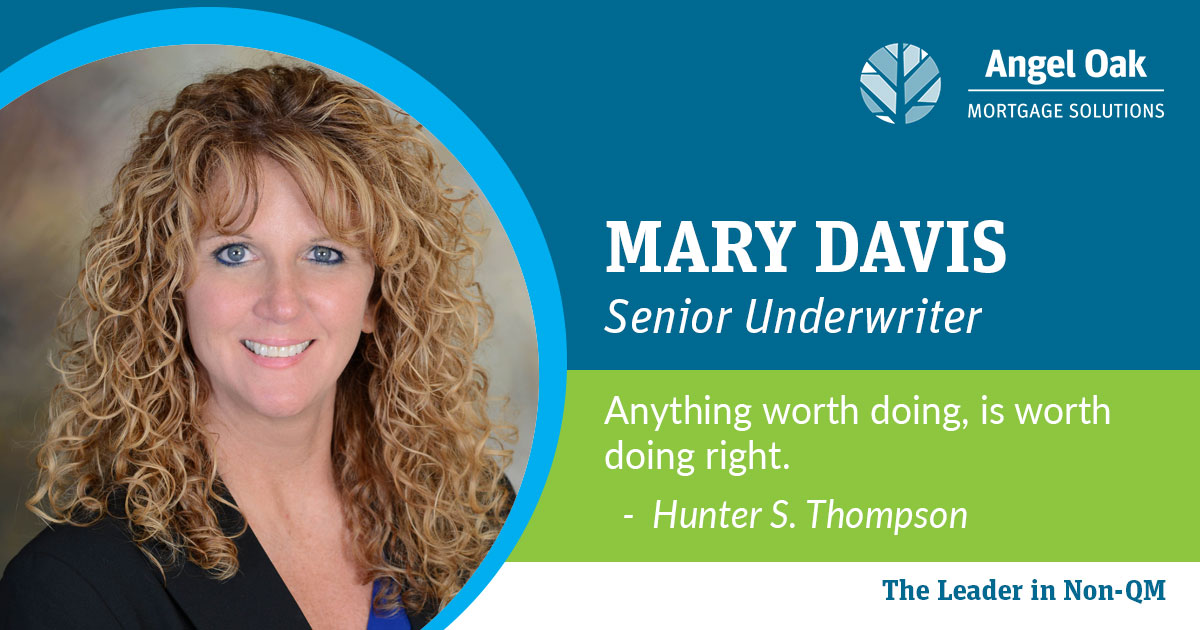 Get To Know Your Team – Mary Davis