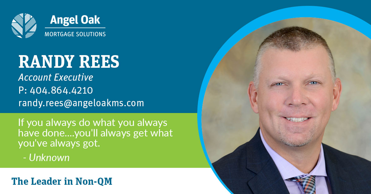 Get To Know Your Account Executive – Randy Rees