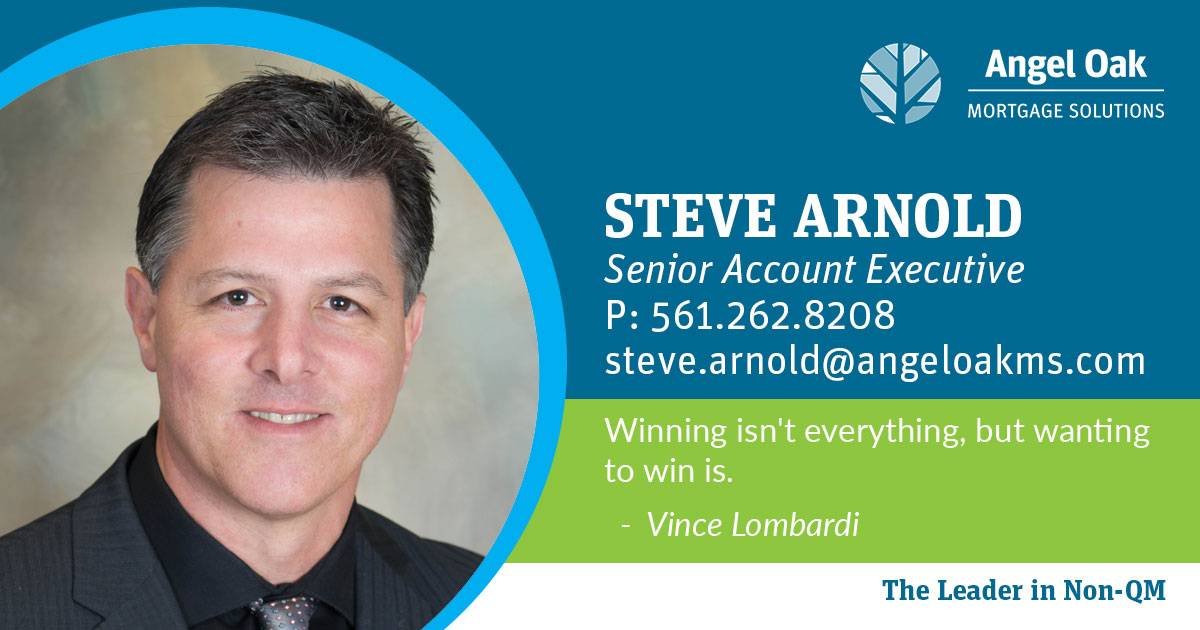 Get To Know Your Senior Account Executive – Steve Arnold